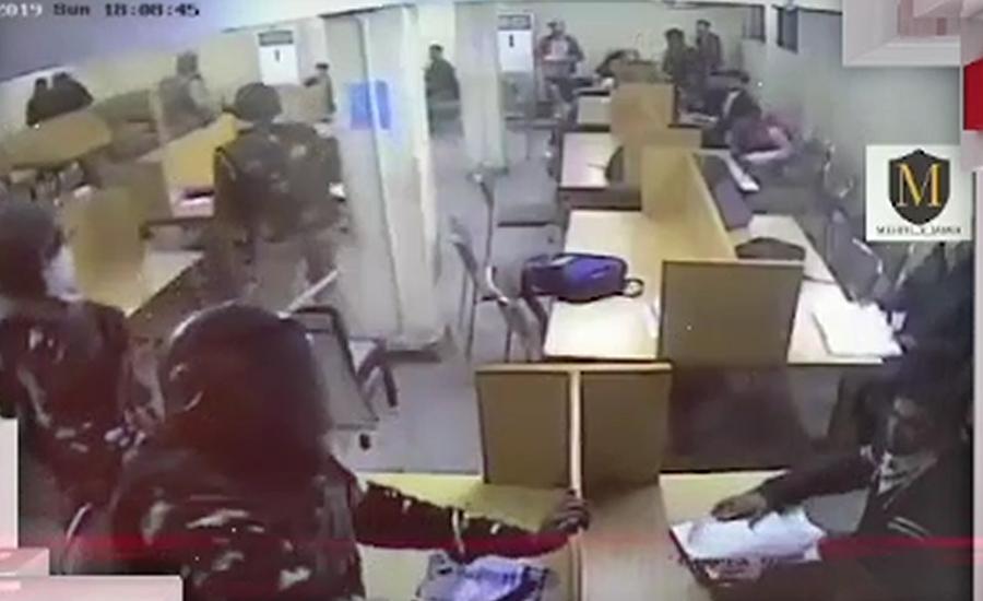 جامعہ ملیہ اسلامیہ میں پولیس کے بہیمانہ تشدد کی ایک اور ویڈیو سامنے آگئی