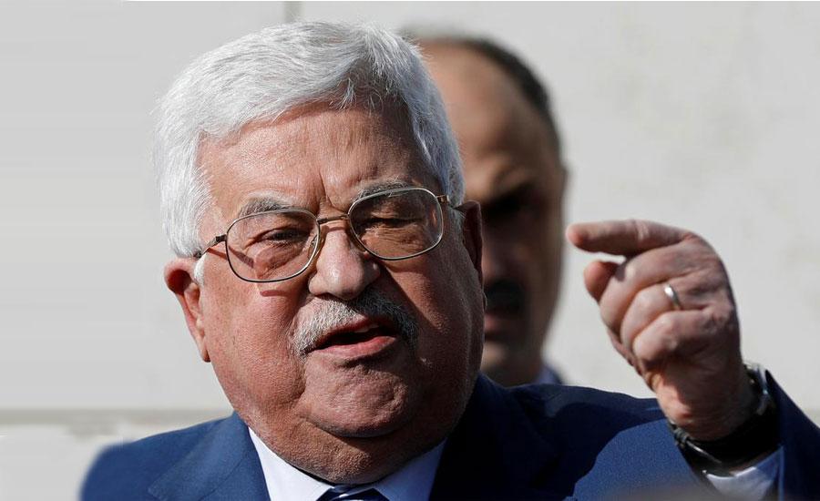 فلسطین کا امریکا کے ساتھ سکیورٹی سمیت تمام رابطے منقطع کرنے کا اعلان
