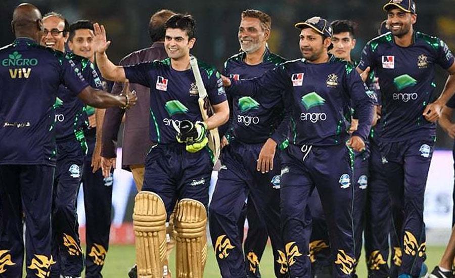 پی ایس ایل فائیو ، کوئٹہ گلیڈی ایٹرز نے کراچی کنگز کو 5 وکٹوں سے شکست دے دی