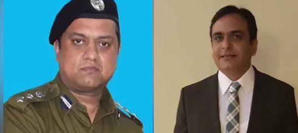 SSP شہباز تتلہ عدیل مفخر ایف آئی اے لاہور  روزنامہ 92 نیوز ایس ایس پی مفخر عدیل 