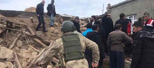 ترکی ، ہولناک زلزلہ ، ایران ، ملحقہ بارڈر ، زلزلے ، دیہات ، متاثر