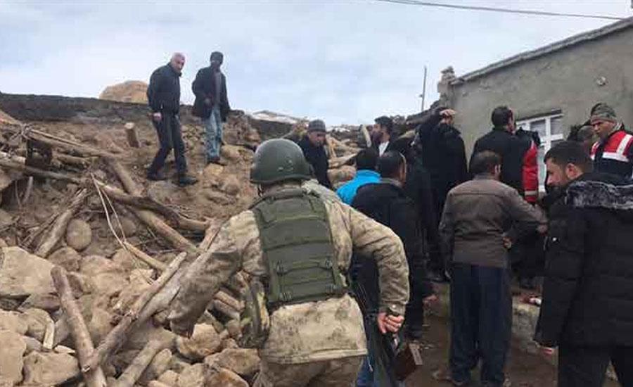ترکی میں ہولناک زلزلہ ، چار بچوں سمیت سات افراد ہلاک