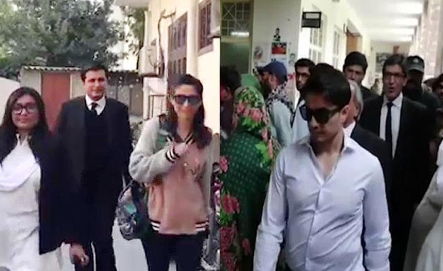 میشا شفیع کے علی ظفر پر ہتک عزت دعوے پر سماعت روکنے کا تحریری حکم نامہ جاری