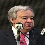 antonio اقوام متحدہ امن مشنز بھی قائد اعظم کے اصولوں پر مبنی ہیں ، سیکرٹری جنرل اقوام متحدہ 