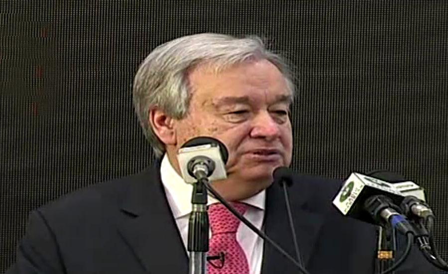 اقوام متحدہ امن مشنز بھی قائد اعظم کے اصولوں پر مبنی ہیں ، انتونیو گوتریس