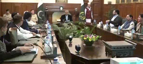 صدر ، ڈاکٹر عارف علوی ، دورہ پشاور ، پولیو ، خاتمے ، اجلاس ، شرکت