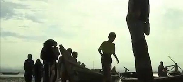 روہنگیا تارکین وطن بنگلہ دیش کشی الٹ گئی 14جاں بحق ڈھاکہ  92 نیوز