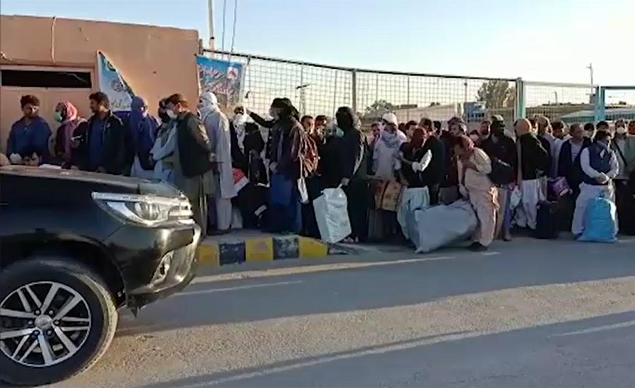 تفتان بارڈر کھول دیا گیا، ایران میں پھنسے 350 زائرین سمیت دیگرافراد پاکستان میں داخل