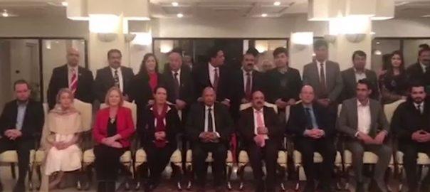 گورنر پنجاب ، ڈیبی ابراہم ، برطانوی پارلیمنٹ ، 6 اراکین ، ملاقات ، مسئلہ کشمیر ، خطے ، بات چیت
