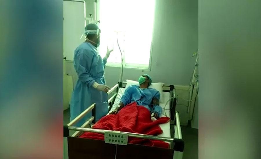 خیرپور میں کرونا وائرس کے مشتبہ مریض کو اسپتال منتقل کر دیا گیا