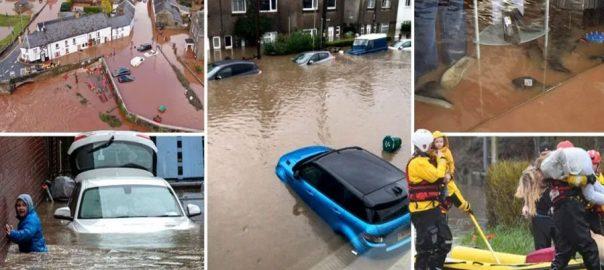 سمندری طوفان ڈینس ، برطانیہ ، نظام زندگی ، درہم برہم ، ہر شے ، تہس نہس ، لندن ، 92 نیوز