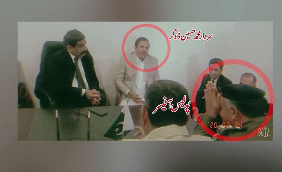 قصور، چوکی انچارج سے جھگڑے کے بعد رہا ہونیوالے حسین ڈوگر کی پولیس کو للکار