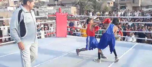 حیدرآباد ، شہید عظیم بلوچ باکسنگ ٹورنامنٹ ، انعقاد ، 25 ٹیموں ، شرکت ، 92 نیوز
