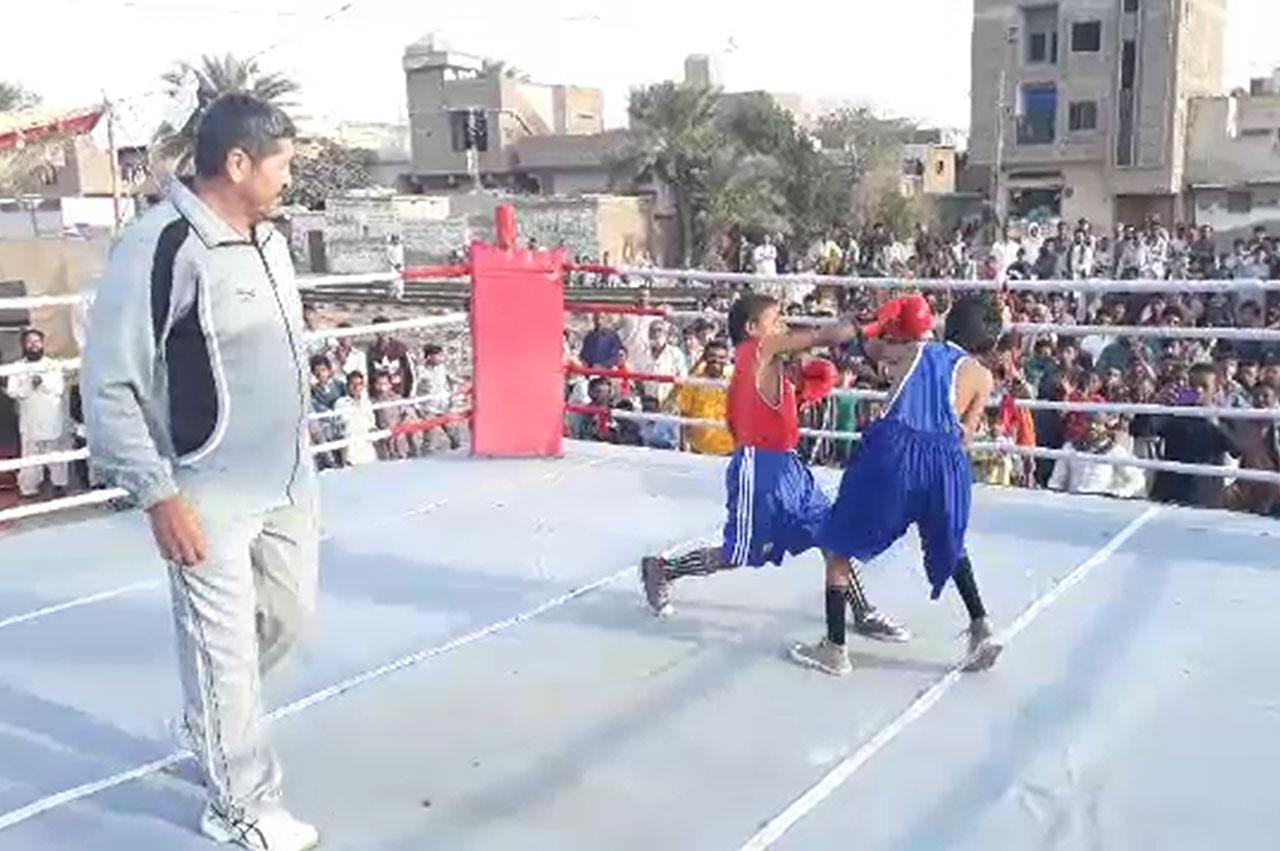 حیدرآباد میں شہید عظیم بلوچ باکسنگ ٹورنامنٹ کا انعقاد، 25 ٹیموں کی شرکت