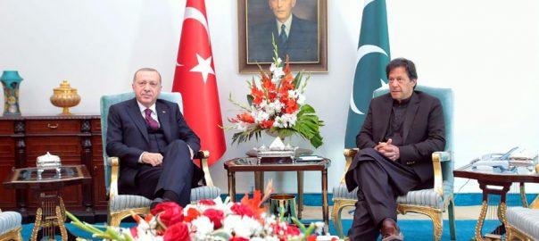 وزیراعظم ، ترک صدر ، ون آن ون ملاقات، اہم امور ، تبادلہ خیال ، اسلام آباد ، 92 نیوز
