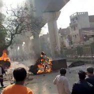 ٹرمپ ، دورہ بھارت ، مودی ، احتجاج ، متنازعہ شہریت ترمیمی قانون ، جعفر آباد ، نئی دہلی ، 92 نیوز