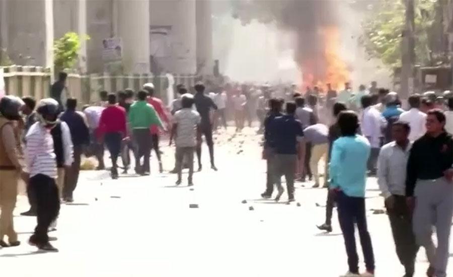 امریکی صدر ڈونلڈ ٹرمپ کا دورہ بھارت ، شہریت قانون کیخلاف احتجاج میں شدت