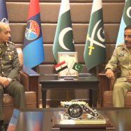 مصر ، مسلح افواج ، کمانڈر ان چیف ، جنرل محمد احمد ذکی ، جوائنٹ اسٹاف ہیڈکوارٹرز ، دورہ