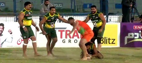 کبڈی ورلڈ کپ  پاکستان  بھارت  فائنل  لاہور  92 نیوز