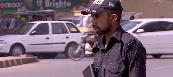 karachi police پی ایس ایل فائیو ٹریفک پولیس روٹ پلان کراچی  92 نیوز
