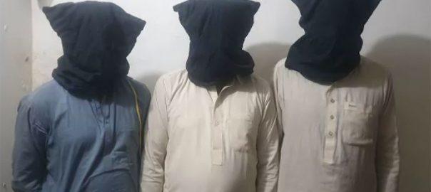 کراچی ، اے وی ایل سی پولیس ، کارروائی ، چوری ، ملوث ، تین ملزم ، گرفتار