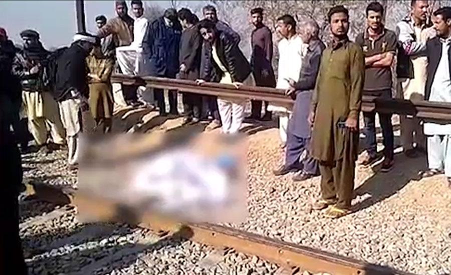 لاہور، کوٹ لکھپت میں ٹرین تلے آکر ایک شخص جاں بحق