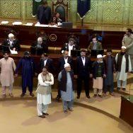 خیبر پختونخوا اسمبلی ، اجلاس ، پھر ہنگامہ آرائی ، نذر ، پشاور ، 92 نیوز