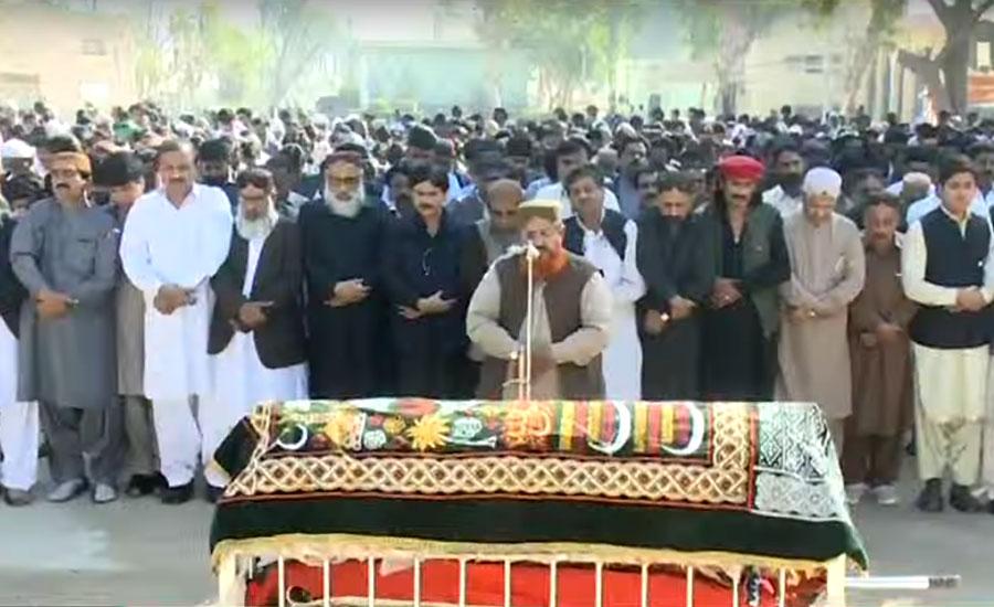 شہناز انصاری کی نماز جنازہ ادا، نوشہروفیروز میں سپرد خاک