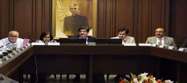 سندھ کابینہ ، اجلاس ، آئی جی سندھ ، معاملہ ، زیربحث