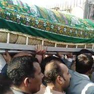 naeem ul haq نعیم الحق نماز جنازہ خیابان اتحاد کراچی  92 نیوز دیرینہ ساتھی 