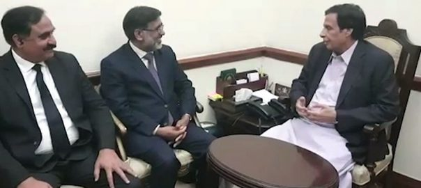 چودھری پرویزالہیٰ ، وکلاء رہنماؤں ، ملاقات ، پنجاب بار ، مسائل ، آگاہ ، لاہور ، 92 نیوز