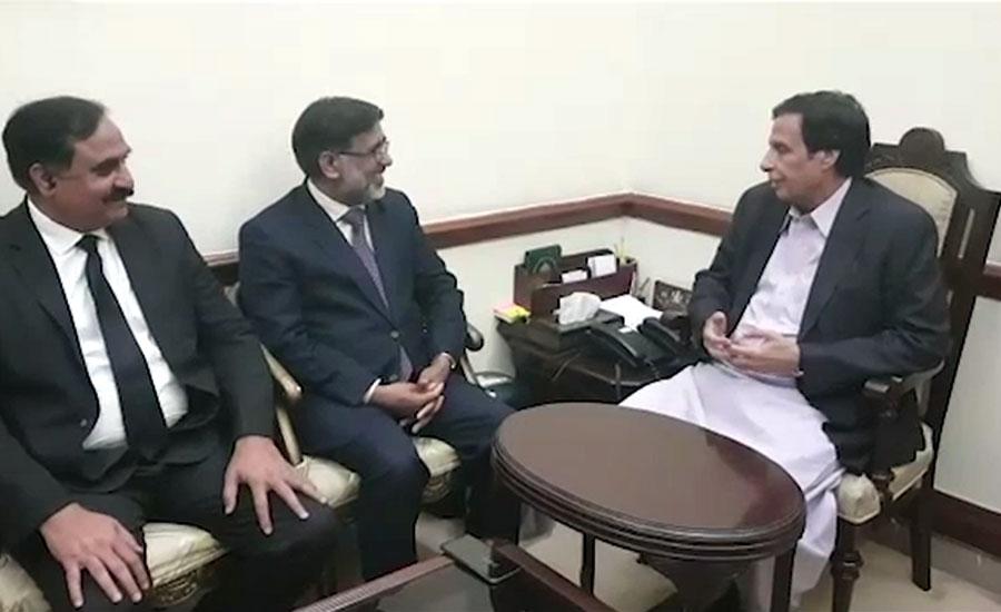 چودھری پرویزالہیٰ سے وکلاء رہنماؤں کی ملاقات، پنجاب بار کے مسائل سے آگاہ کیا