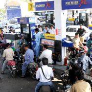 petrol pump کراچی پٹرول کی قلت  افواہیں دم توڑ ئیں  کراچی  92 نیوز