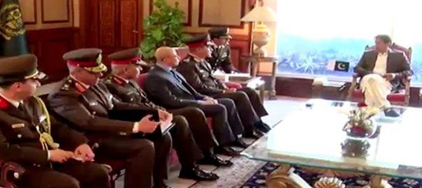 وزیراعظم ، مصری وزیر دفاع ، ملاقات ، دو طرفہ تعلقات ، خطے ، عالمی صورتحال ، غور ، اسلام آباد ، 92 نیوز
