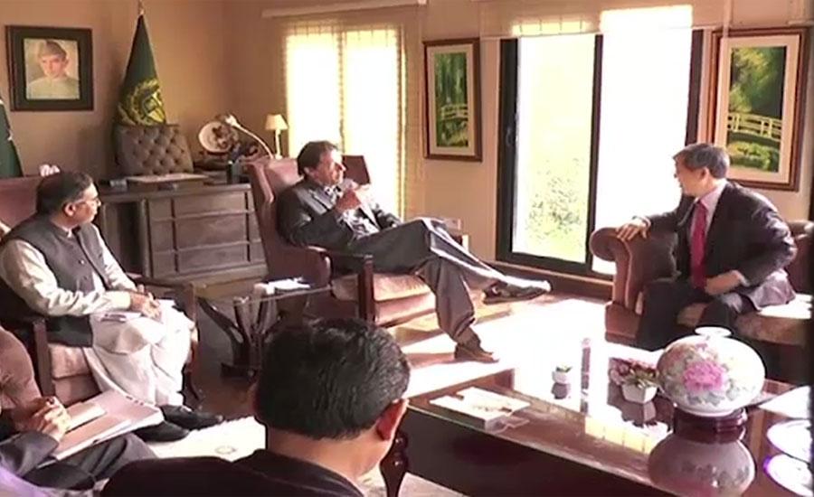 وزیراعظم سے جائیکا کے صدر کی ملاقات ، وزیراعظم کو پاکستان میں جاری مختلف منصوبوں پر بریفنگ