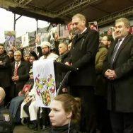 protest ہناؤ  شیشہ بارز  92 نیوز