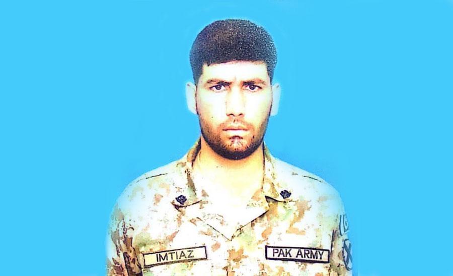 بھارتی فورسز کی لائن آف کنٹرول پر اشتعال انگیزی ، سپاہی امتیاز علی جام شہادت نوش کر گئے