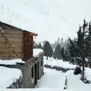 گلگت بلتستان ، آزاد جموں وکشمیر ، گلیات ، بالائی پہاڑوں ، برفباری ، گلگت ، 92 نیوز