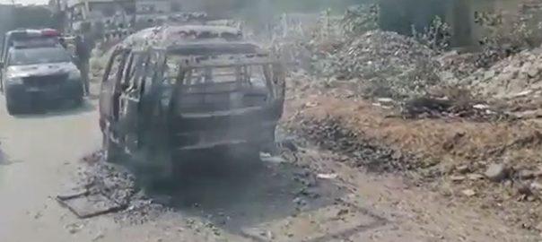 کراچی ، سچل ، اسکول وین ، آتشزدگی ، بچوں ، بحفاظت ، نکال