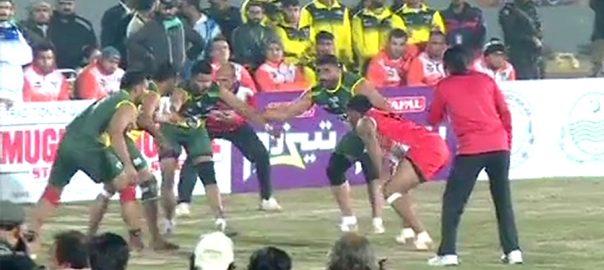 کبڈی ورلڈ کپ  پاکستان  کینیڈا  لاہور  92 نیوز