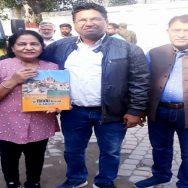 yatri ہندو یاتری  واہگہ بارڈر  لاہور   92 نیوز سنیل کھنہ  اوشا گوئل