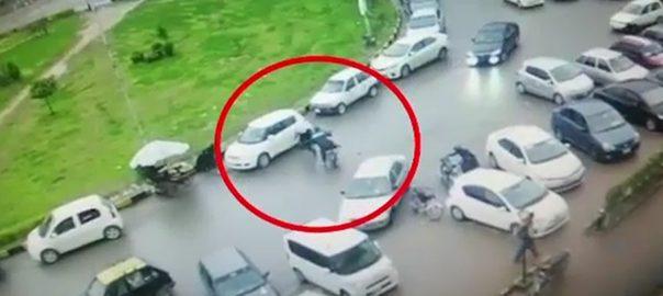 CCTV آئی ایٹ سیکٹر  فائرنگ  سی سی ٹی وی فوٹیج  اسلام آباد  92 نیوز وفاقی دارالحکومت