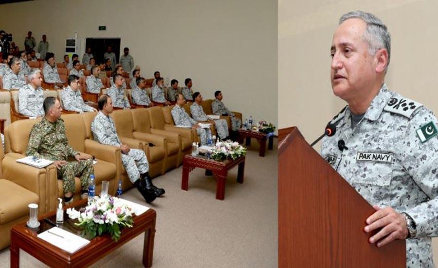 پاک بحریہ کی مشق سی اسپارک 2020 کے ڈی بریف سیشن کا کراچی میں انعقاد