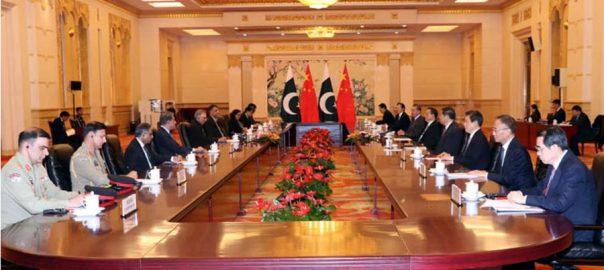 پاکستان ، چین ، جامع اسٹریٹجک تعاون ، مضبوط ، اتفاق