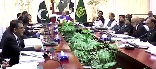ECC ایچ ای سی  5ارب اسٹریٹجک پالیسی پلاننگ سیل کی 15ملین کی سپلیمنٹری گرانٹ  اسلام آباد  92 نیوز مشیر خزانہ حفیظ شیخ