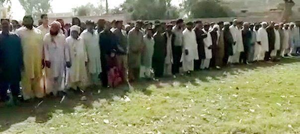 Funeral سانحہ گولیمار  جاں بحق  نما زجنازہ  شکار پور  92 نیوز اجتماعی نماز جنازہ