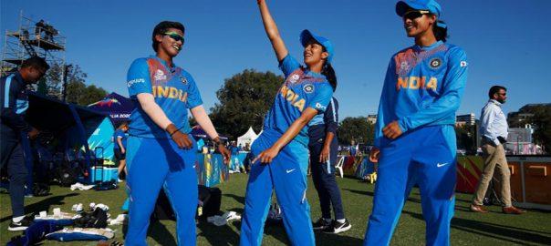 INDIA بھارت  آئی سی سی  ویمن ٹی 20 ورلڈ کپ سڈنی  92 نیوز