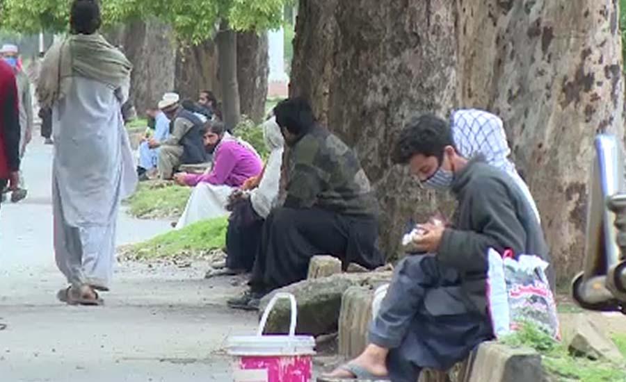 اسلام آباد میں محنت کش روزگار کیلئے مارے مارے پھرنے لگے
