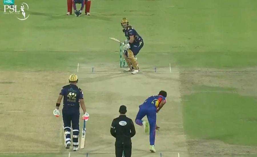 کوئٹہ گلیڈی ایٹرز نے کراچی کنگز کو 5 وکٹوں سے شکست دیدی