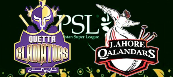 Quetta VS Lahore لاہور قلندرز  کوئٹہ گلیڈی ایٹرز  قذافی اسٹیڈیم  لاہور  92 نیوز پاکستان سپر لیگ  سیزن فائیو دلچسپ ایونٹ